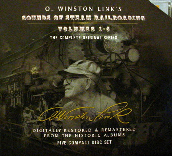 Sounds of Steam Railroading Volumes 1 - 6